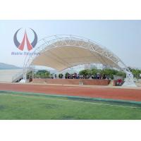 Wholesale Metal Frame Tensile Membrane Canopy Storage Shed With 6 Poles Large Span Life from china suppliers