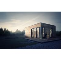 Wholesale Prefabricated House Prefab Garden Studio with Light Steel Frame Storage from china suppliers