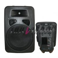 Wholesale 8 Inch Active / Passive Cabinet Stereo PA Speaker With Mp3 , USB from china suppliers