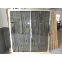 Wholesale Amman Hot Selling Sliding Shower Glass, Jordan Hot Selling Shower Screens For Hotel Bathrooms from china suppliers