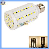 Wholesale E27 10W 110V 60LED *Lm 3500k Warm White Light LED Corn Light Bulb 88007116 from china suppliers