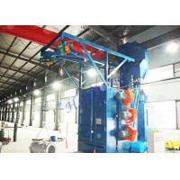 Wholesale Double Hangers Spinner Shot Blaster Machine , Wheel Cleaning Machine For Bearing Industry from china suppliers