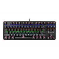 Wholesale Pc Gaming Portable Mechanical Keyboard 87 Keys Blue Switch With Backlit from china suppliers