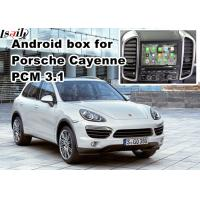 Wholesale GPS car navigation box video interface for 10-16 Porsche PCM 3.1 cast screen from china suppliers