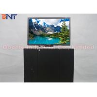 Wholesale 19 Inch Conference Room Tabletop LCD Monitor Screen Motorized Pop Up Lift 110V ~ 240V from china suppliers