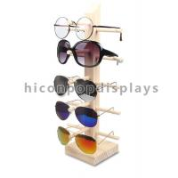 Quality 8 Layer Sunglasses Display Case Glasses Frame Holder Display Stand Rack for sale