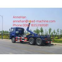 Wholesale 20M3 40T Load Capacity Garbage Compactor Truck , Hook Arm Rear Lift Garbage Truck from china suppliers