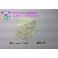 Wholesale Good quality Testosterone acetate powder Testosterone bodybuilding steroid CAS: 1045-69-8 from china suppliers