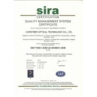 Carefiber Optical Technology (Shenzhen) Co., Ltd. Certifications