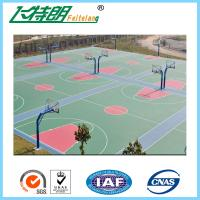 Wholesale Environmental Outdoor Athletic Court Polyurethane Sports Flooring Green from china suppliers