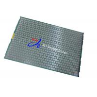 Wholesale 20-325 Mesh Hook Strip oil filter vibrating screen/Oilfield Screens For Rig from china suppliers