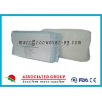 Wholesale Adult Unscented Flushable Wipes , Compostable Wet Wipes Extra Large from china suppliers