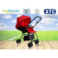 Wholesale High Landscape Red Leather 4 Wheel Prams And Pushchairs From Birth from china suppliers