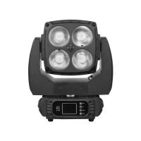 Wholesale Matrix 4 * 60W OSRAM Moving Head LED Wash Professional Stage Lighting Black Housing from china suppliers