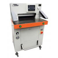 Quality Touch LCD Hydraulic Paper Cutting Machine Max Cutting 670mm Program Control for sale