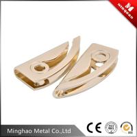 Quality Light gold metal bag strap buckle,zinc alloy bag accessories metal buckle for sale