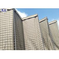 Welded Hesco Barrier Anti Explosion Easy Installation Eco - Friendly