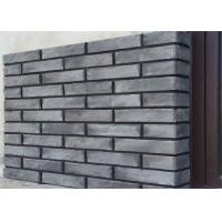 Wholesale 3D408 Acid Resistance Gray Clay Thin Veneer Brick For Decorative Wall from china suppliers