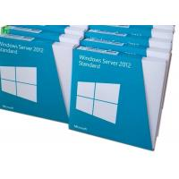 Quality Windows Sever 2012 Standard Software Genuine Key License Retailbox Lifetime Guarantee for sale