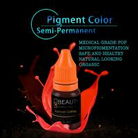 Wholesale Lip Tattooing Semi Permanent Makeup Ink Magic Wine Red Free Of Iron Oxides from china suppliers