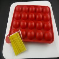 Buy cheap 100% food-grade silicone material colorful silicone chocolate candy molds CE / EU, FDA, LFGB,  from wholesalers