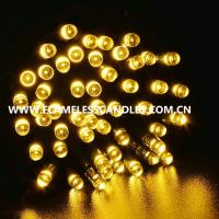 Wholesale Warm White Battery Powered LED String Lights / Rechargeable Battery Operated Fairy Lights from china suppliers