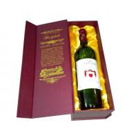 Wholesale cardboard wine box, Wine packaging box, Wine gift box from china suppliers