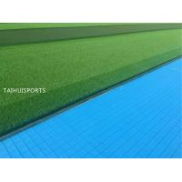 China PE Foam Double-Sided Grooved Shock Pads Underlay Soccer Rugby Hockey Field High Tensile Strength Customized Thickness on sale