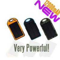 Wholesale New product 12000mAh mobile solar charger from china suppliers