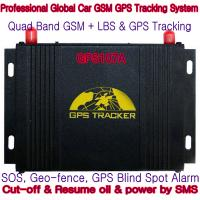Wholesale GPS107A Professional Car Safety GPS Vehicle Tracker W/ Cut-off & Resume oil & power by SMS from china suppliers