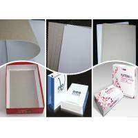 Wholesale 400Gsm 0.5mm Coated Duplex Board Paper Grey Back for Folding Box from china suppliers