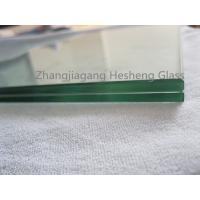 Wholesale clear laminated tempered glass,6+0.76+6MM with flat polished edge from china suppliers
