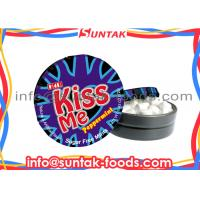 Wholesale No Sugar Round White Mint Candy , Peppermint Flavored Candy With Display Box from china suppliers