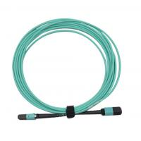 Wholesale MPO/PC/F to MPO/PC/F for OM3 with 12B 3.0mm for 1M/5M/10M OFNP/LSZH Aqua B from china suppliers
