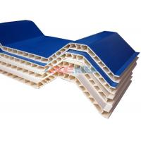 Wholesale Plastic Double Layer Roofing Sheet Making Machine For Roof Tile Heat Preservation from china suppliers