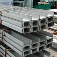 Wholesale 201/304/316/431 stainless steel channel bars, white acid, hot-rolled, polished, sandblast surface from china suppliers