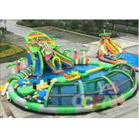 Wholesale Giant Mobile Amazing Inflatable Water Park Swimming Pool With Crocodile Slide from china suppliers