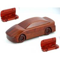 Wholesale Race Car shape Single wood Pen Box from china suppliers
