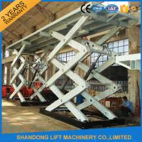 Wholesale 10T Heavy Duty Stationary Hydraulic Scissor Lift Table for Cargo with CE TUV SGS from china suppliers