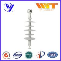 Wholesale 35KV Gray Composite Polymer Suspension Insulators for Substation from china suppliers