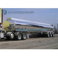 Wholesale 3 Axle 42000L Lightweight Aluminum Alloy Semi Tanker Trailers from china suppliers