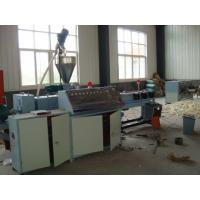 Wholesale Corrugated Pipe Machine Single Wall Pvc Flexible Pipe Extrusion Line from china suppliers
