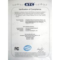 SHENZHEN XINTAIYUE COMMUNICATION CABLE CO.,LTD. Certifications