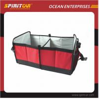 Wholesale custom PE board Foldable Car Organizer Bag for daily commodities from china suppliers