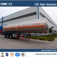 Wholesale tri-axle 40,500litres fuel tanker trailers for sales in Ghana from china suppliers
