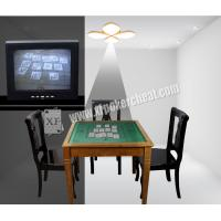 Wholesale White Ceiling Lamp Casino Cheating Devices With Camera Read Backside from china suppliers