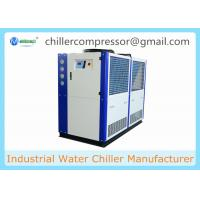 Wholesale 5HP 10HP 20HP 30HP R404A R407c Copeland Compressor Brewery Air Cooled Glycol Chiller from china suppliers