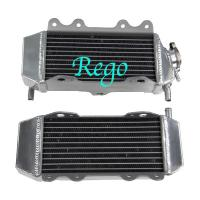 Wholesale 4 Rows Aluminum Motorcycle Race Radiators High Performance Air Tightness Tested from china suppliers