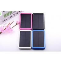 Wholesale high capacity 8000mah solar power bank, solar energy.solar mobile charger from china suppliers