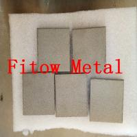 Quality Sintered porous metal filter elements Stainless steel powdered metal parts for sale